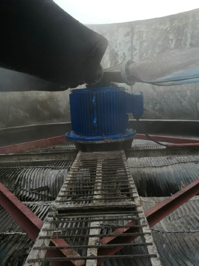 Permanent Magnet Motor of Cooling Fan in a Cement Plant